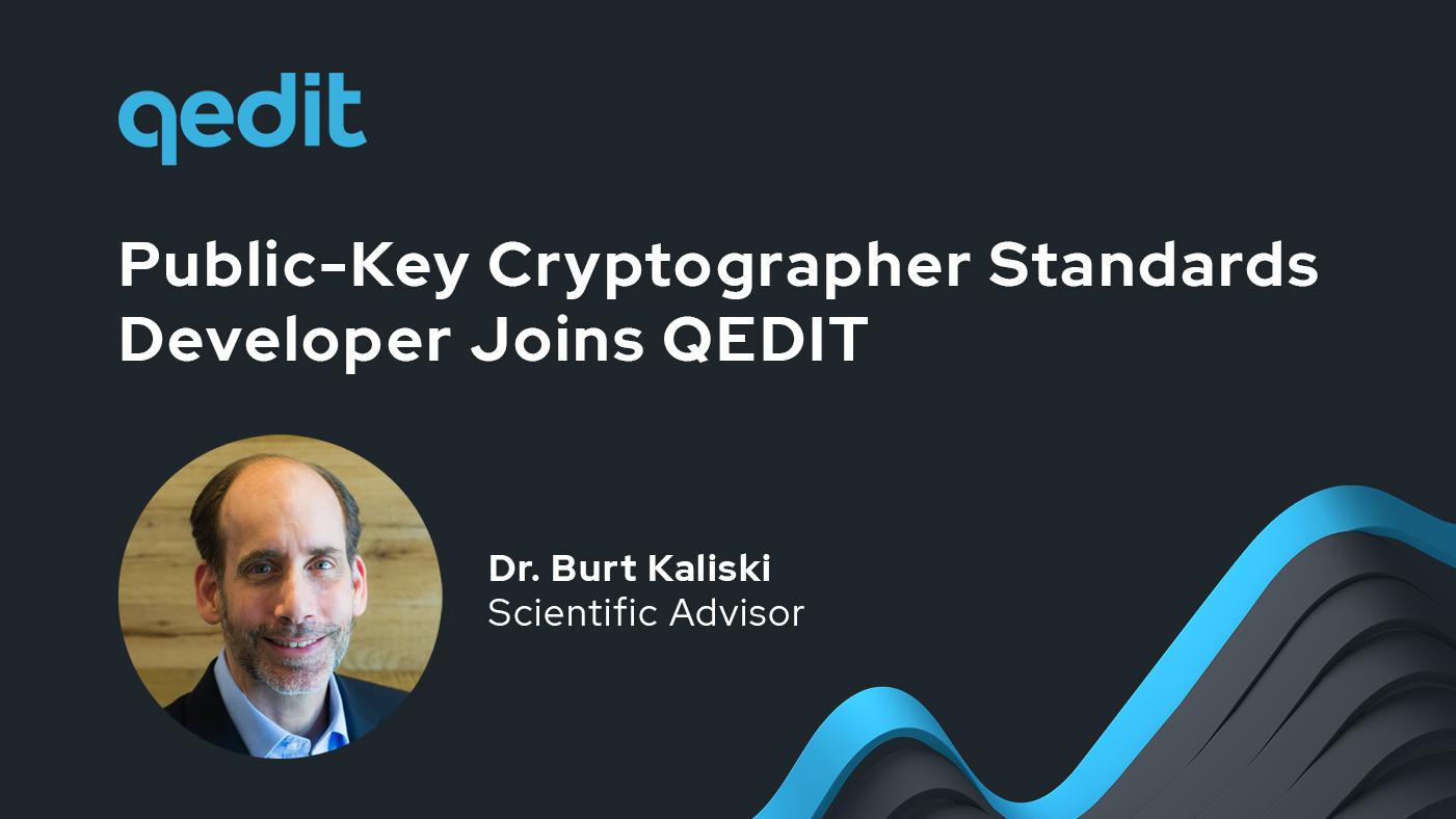 Dr. Burt Kaliski