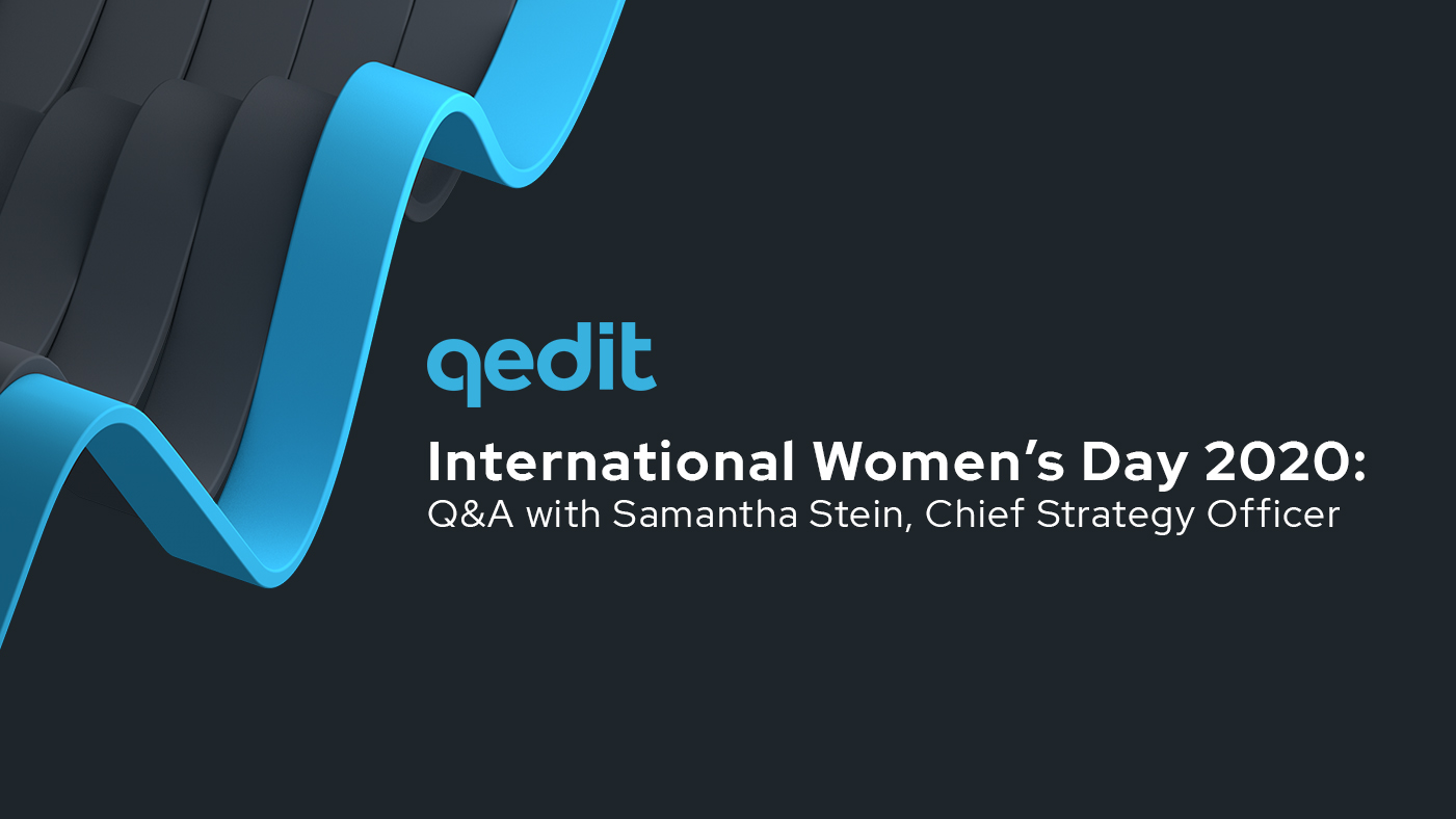 International Women's Day 2020: Q&A with Samantha Stein
