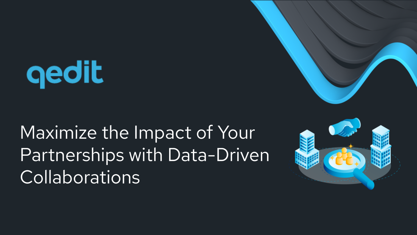 Maximize Impact of Partnerships with Data-Driven Collaborations